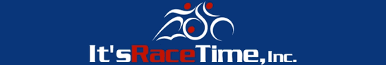it's race time logo