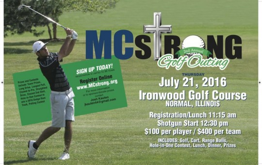 2016 MCstrong Golf Outing